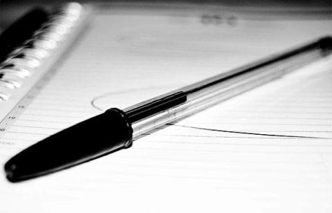 Escrever, um pacto